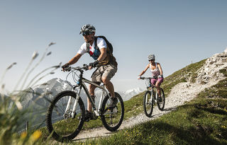 Stubaital - The optimum region for mountain bikers