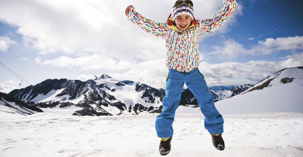 Family ski holiday in the Stubai valley