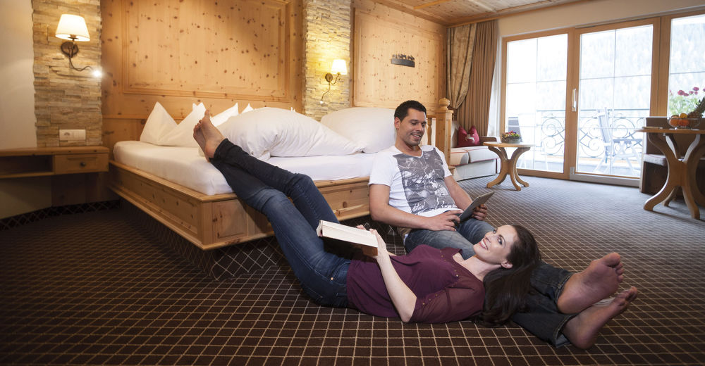 Relaxing holidays at the Kindl Hotel in the Stubai valley