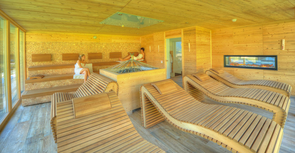 Recuperation for body and soul in our sauna area