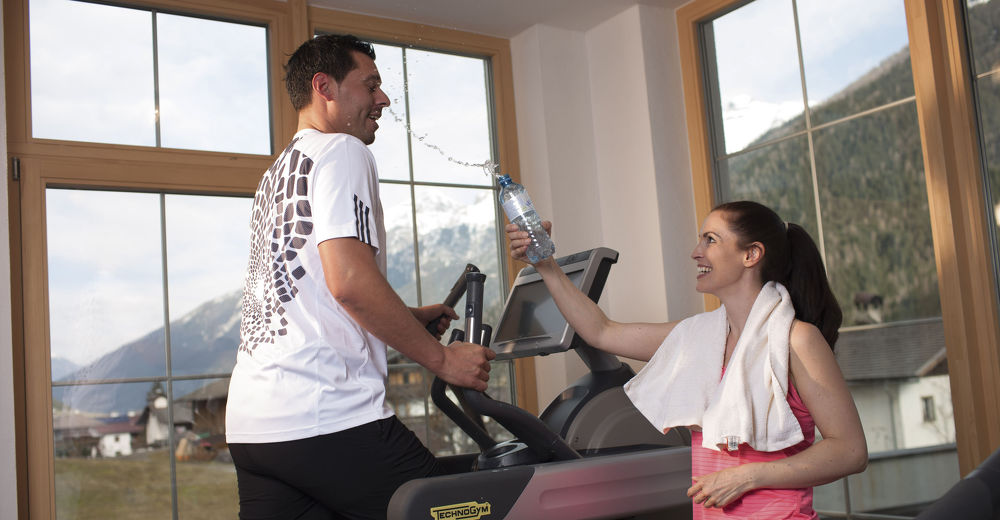 Keep fit - Fitness complex at the Kindl Hotel